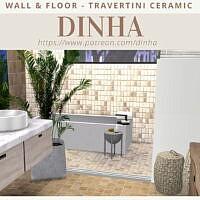 Travertini Ceramic Wall & Floor
