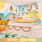 Retro Kids Room By Mini Simmer