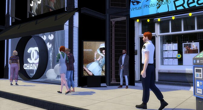 Sims 4 Dress Store at Lily Sims