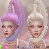 J256 Unicorn's Secret Hair
