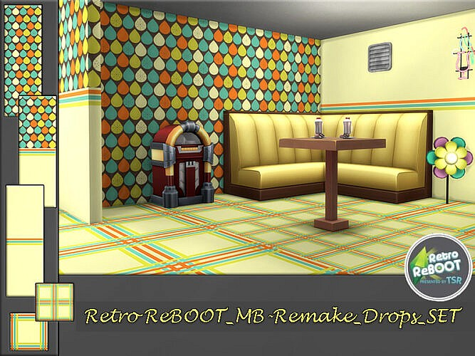 Retro Mb Remake Drops Set By Matomibotaki