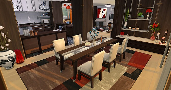 Sims 4 Artists Vision House at Simsontherope