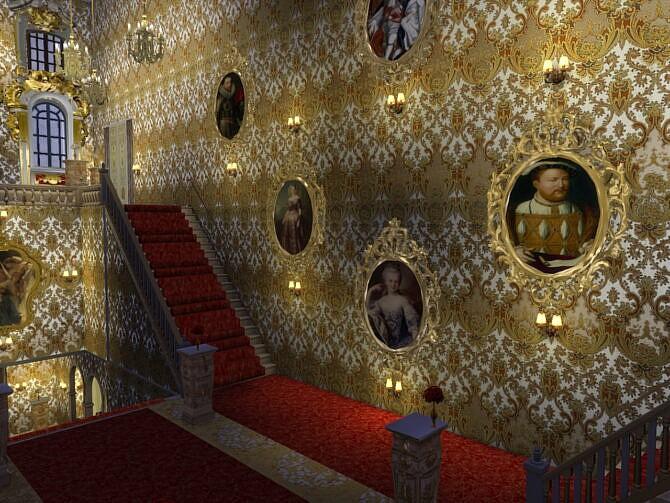 Sims 4 Wall Clocks & Paintings at Anna Quinn Stories