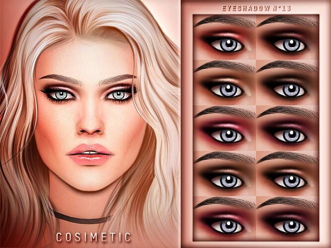 Eyeshadow N13 By Cosimetic