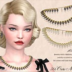 Retro Coro Lucite Necklace 50s By Feyona