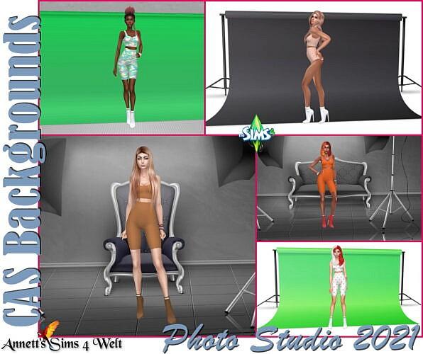 Photo Studio 2021 Cas Backgrounds