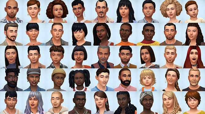 Sims 4 Families Pack I at Simsontherope