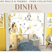Kids Walls & Frames Farm Collection