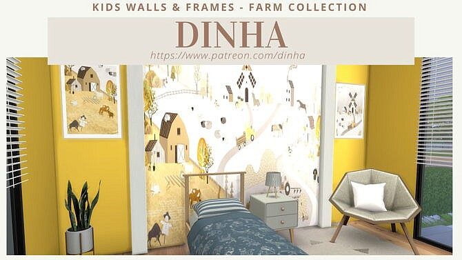 Kids Walls & Frames Farm Collection