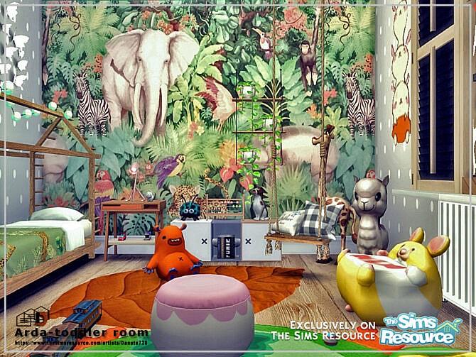 Sims 4 Arda toddler room by Danuta720 at TSR