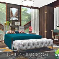 Retro Darla Bedroom By Rirann