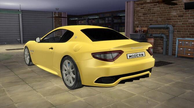 Sims 4 2012 Maserati GranTurismo Sport at Modern Crafter CC