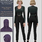 Monika Set: Top, Jeans + Plugs