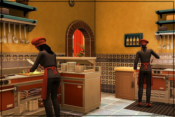 Sims 4 The Lone Cactus Restaurant at Strenee Sims