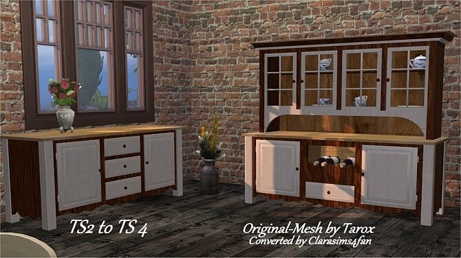 Sims 4 Cottage Set by Chalipo at All 4 Sims