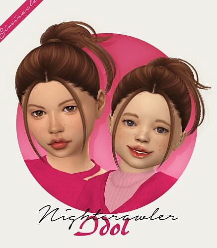 Nightcrawler's Idol Hair For Kids & Toddlers