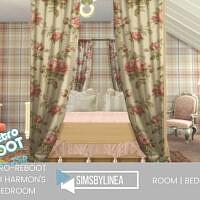 Retro Beth Harmon's Bedroom By Simsbylinea
