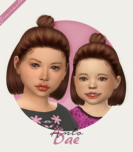 Anto Dae Hair For Kids & Toddlers