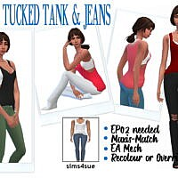 Ep02 Tucked Tank & Jeans