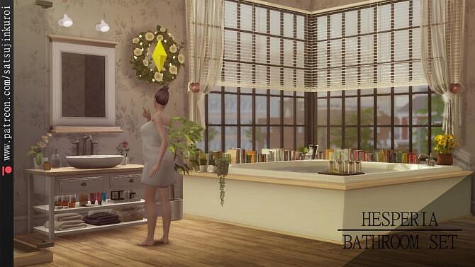 Hesperia Bathroom Set