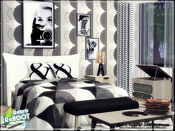 Sims 4 Adela bedroom by Danuta720 at TSR