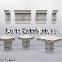 Doric Entablature By Thejim07