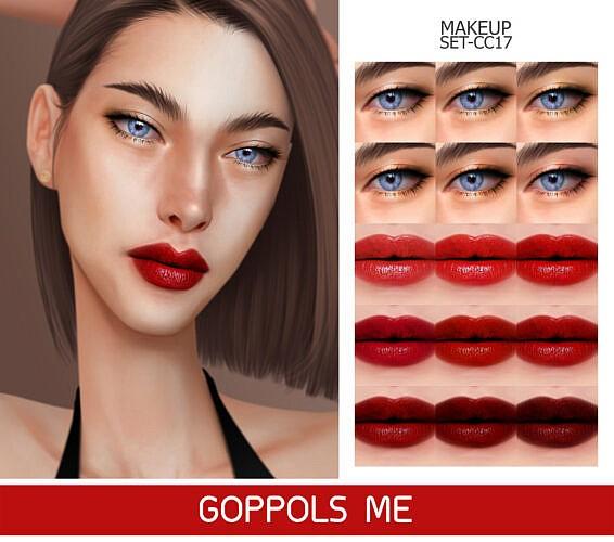 Gpme-gold Makeup Set Cc17