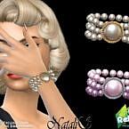 Retro 60s Pearl Bracelet By Natalis