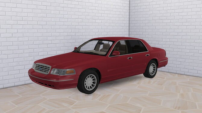 Sims 4 1999 Ford Crown Victoria at Modern Crafter CC