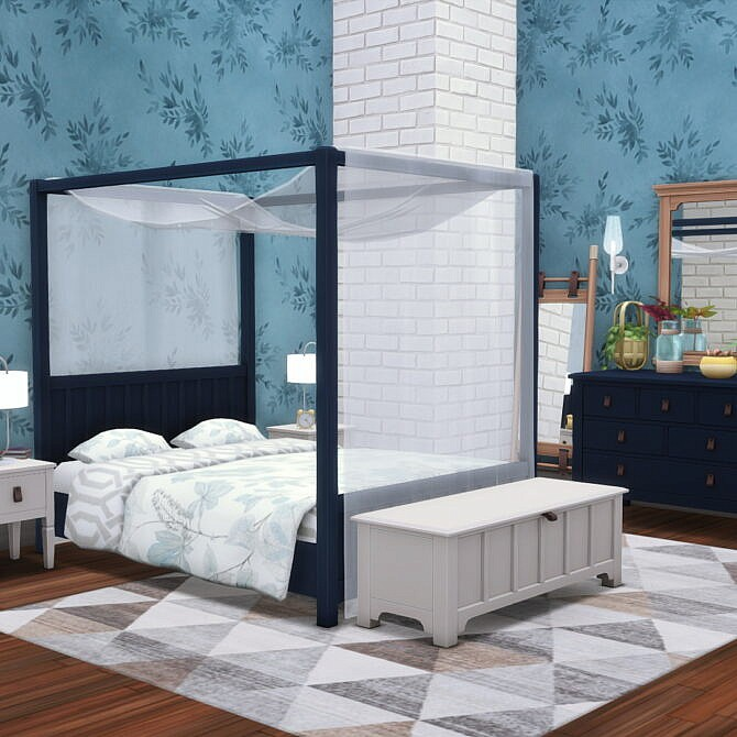 Sims 4 Elsie Bedroom Basics 25 New items at Simsational Designs