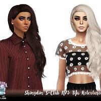 S-club N73 Tifa Hair Retexture