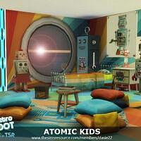Retro Atomic Kids Room By Dasie2