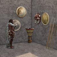 The Good Shaman's Magic Drum