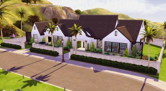 Cali Ranch Mansion By Zhepomme