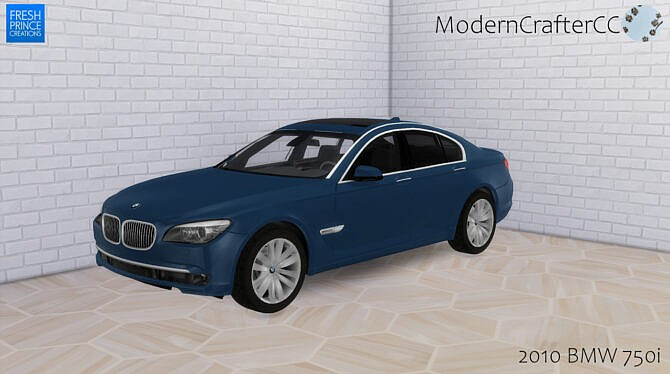 Sims 4 2010 BMW 750i at Modern Crafter CC