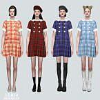 Cute Pleats Mini Dress V2