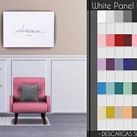 White Panel Walls