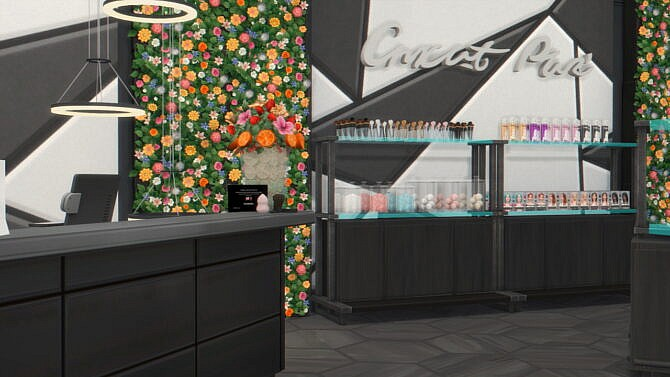 Sims 4 Cosmetics Store In Del Sol Valley at Anna Frost