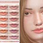 Spring Matte Lipstick