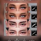 Eyebrows 7~10