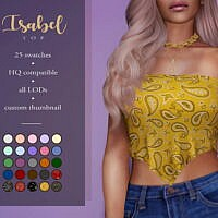 Isabel Scarf Top