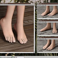 Feet 6v