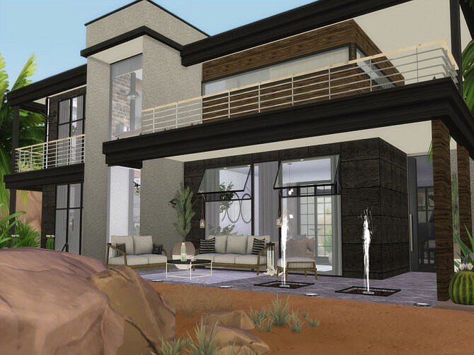 Sims 4 Alessa house by Suzz86 at TSR