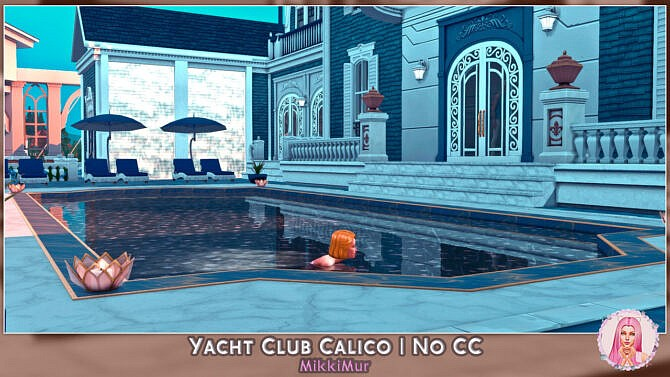 Sims 4 Yacht Club Calico at MikkiMur