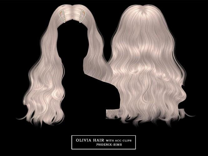 Olivia Hair Free + 3 Hairs (p)