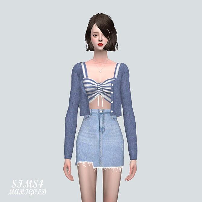 Sims 4 Cardigan 8A at Marigold