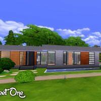 Street One House By Oldbox