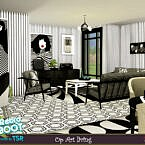 Retro Mid 60s Op Art Living By Evi