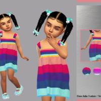 Toddler Dress Julia By Lyllyan