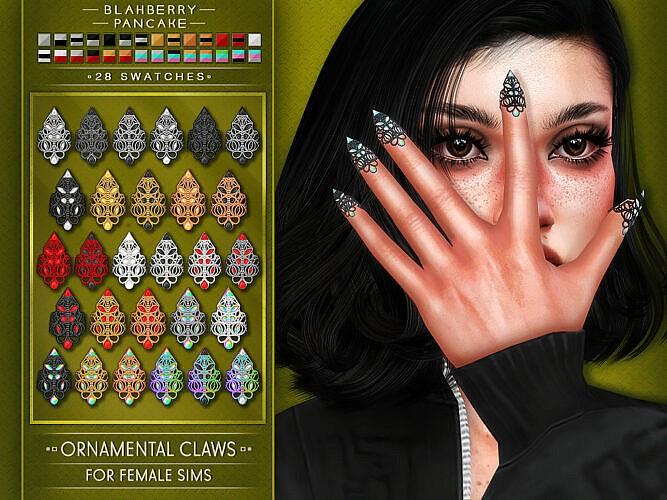 Ornamental Claws